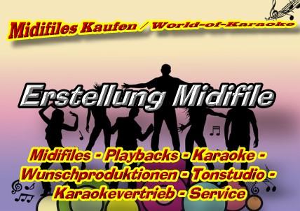 Midifiles Kaufen - Midifile Erstellung -