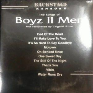 Backstage Karaoke - Boyz II Men - Front