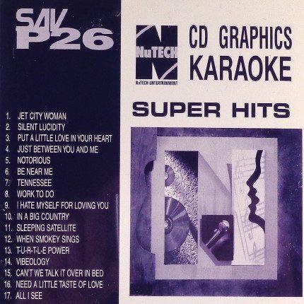 Nutech-P-26-Karaoke- CD+G - Playbacks - Front