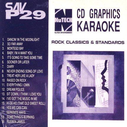 Nutech-P-29-Karaoke -Rock Classics und mehr - Front