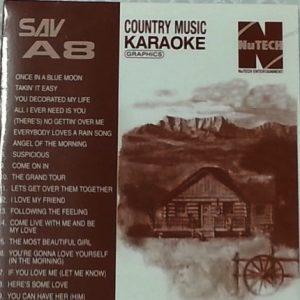 Nutech SAV-A8 Country Karaoke