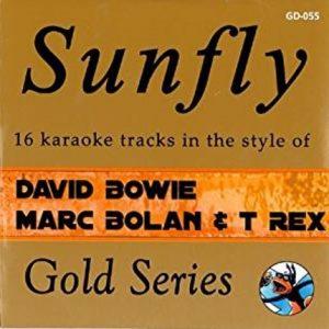 Sunfly Karaoke - Gold - David Bowie - T Rex