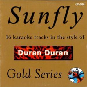 Sunfly Karaoke Gold - Duran Duran CDG