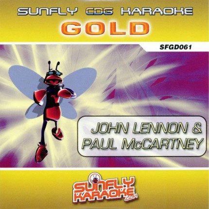 Sunfly Karaoke - Gold - Lennon und McCartney - Front