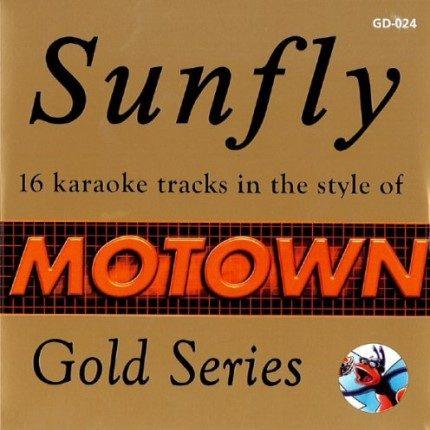 Sunfly Karaoke - Gold - Motown - GD-024 - Playbacks CD+G-1