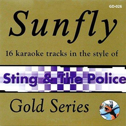 Sunfly Karaoke Gold Series 026- Sting