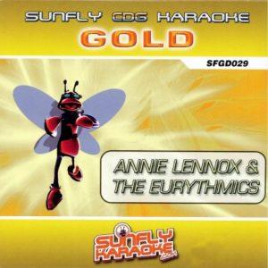 Sunfly Karaoke Gold Series 029- Annie Lennox