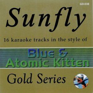 Sunfly Gold Series 038- Blue & Atomic Kitten