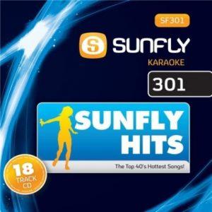 Sunfly Karaoke - Top 40 Songs - SF301 - Front