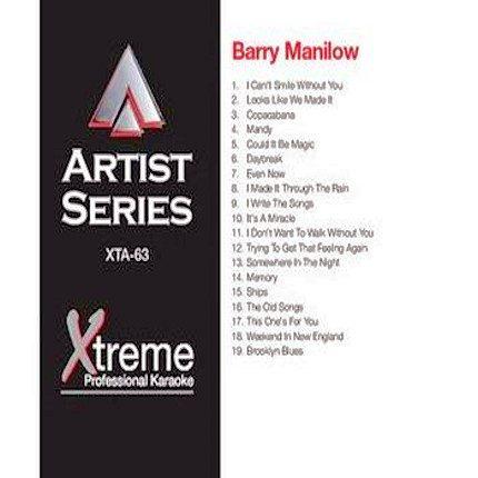 BARRY MANILOW - Karaoke - Rarität - xta63
