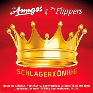 Die Amigos & die Flippers-Schlagerkönige - Frontseite