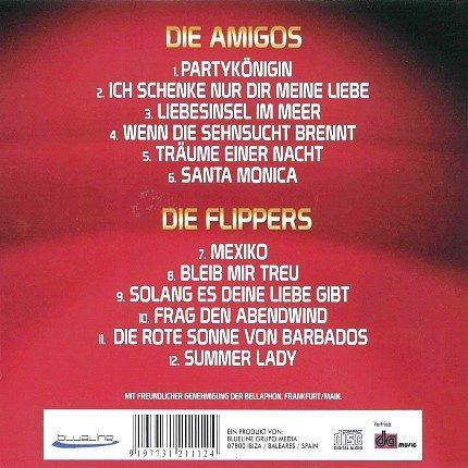 Die Amigos & die Flippers-Schlagerkönige - Rueckseite