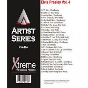 ELVIS PRESLEY VOL. 4 - XTA124 - Karaoke Playbacks