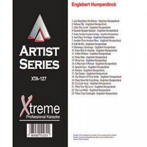 ENGLEBERT HUMPERDINCK - Karaoke Playbacks - XTA127