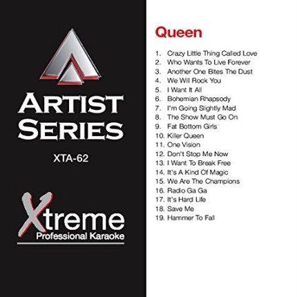 Hits Of Queen - Karaoke Playbacks - XTA-62