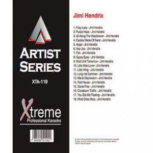 JIMI HENDRIX Karaoke - xta119 - Playbacks