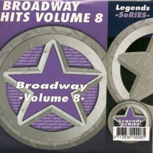 LEGENDS Karaoke CD+G BROADWAY SHOWSONGS Vol.8