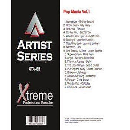 POP MANIA VOL 1 - XTA83 - Karaoke Playbacks