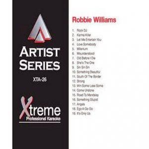 ROBBIE WILLIAMS - Karaoke Playbacks - xta26