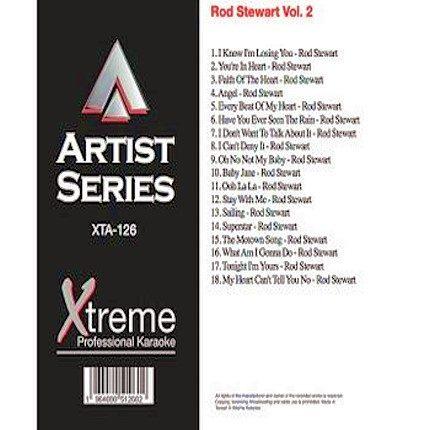 ROD STEWART VOL. 2 - Karaoke Playbacks - XTA126
