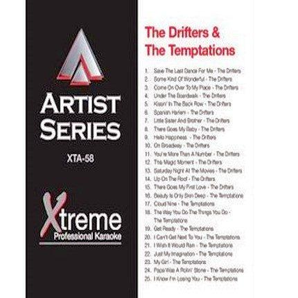 THE DRIFTERS & THE TEMPTATIONS - Karaoke Playbacks - xta58