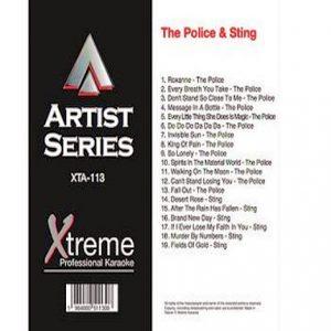 THE POLICE & STING - xta113 Xtream Karaoke