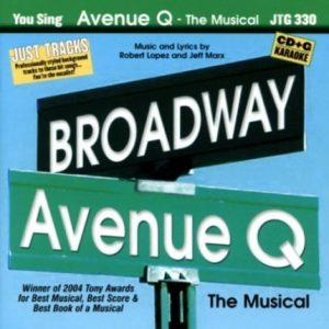Avenue Q the Musical - Karaoke Playbacks - JTG 330 - CD-Front