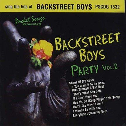 Backstreet Boys Party Vol.2 - Karaoke Playbacks - PSCDG 1532 - CD-Front