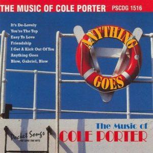 Die Hits Cole Porter - Karaoke Playbacks - Rarität - PSCDG 1516