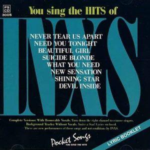 INXS - Karaoke Playbacks - PSCD 3005 - CD-Front