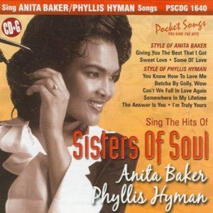 Sisters of Soul - Anita Baker und Phyllis Hyman - Karaoke Playbacks - Rarität