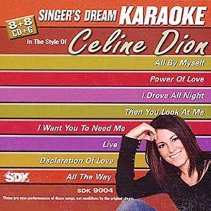 Celine Dion - Karaoke Playbacks - SDK 9004