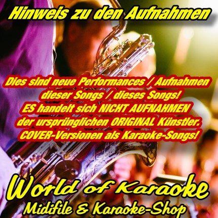 Best of Deutsche Schlager Vol.1 - Karaoke Playbacks für Schlagerfans