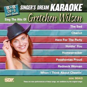 Hits of Gretchen Wilson - Karaoke Playbacks - SDK 9043