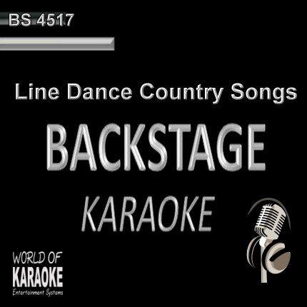 Line Dance Country Songs – Karaoke Playbacks - CD G - BS4517 - Multiplex
