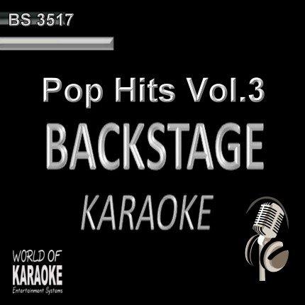 Pop Hits Vol. 3 – Backstage Karaoke Playbacks – BS 3517