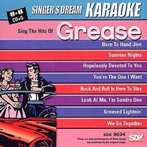 Sing The Hits Of Grease - Karaoke Playbacks - SDK 9034