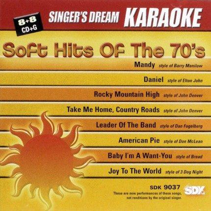 Soft Hits of the 70s - Karaoke Playbacks - SDK 9037